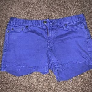 J crew purple sz 8 shorts